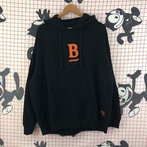 Vintage Shirts - Belly Mumble Rap Black Sweatshirt